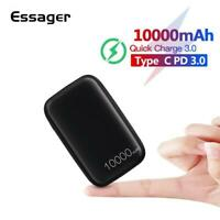 Essager 10000mAh Mini Power Bank 10000 Quick Charge 3.0 Small Powerbank