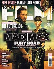TOTAL FILM #231 Mad Max: Fury Road EMA WATSON Marvel SIMON PEGG Lea Seydoux @NEW