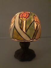 Fairy Lamp Ceramic Milticolored