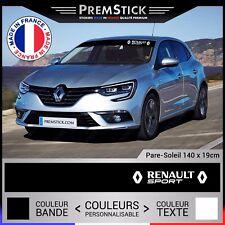 Sticker Pare Soleil Renault Sport - Autocollant Voiture, Stickers Racing, ref2