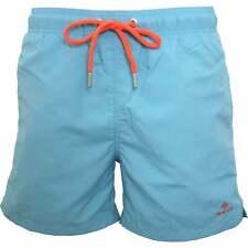 Gant Classic Men's Swim Shorts, Aqua Blue