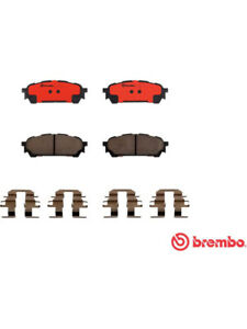 Brembo Brake Pads FOR SUBARU FORESTER SG (P78014N)