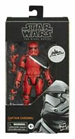 "STAR WARS THE BLACK SERIES GALAXY'S EDGE  CAPTAIN CARDINAL 6"" ACTION FIGURE"