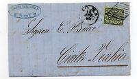 ANTICHI STATI 1864 STATO PONTIFICIO 2 BAJ  ROMA 14/4 D/8616