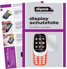 2x Nokia 3310 Pellicola Protettiva Protezione Schermo Cristallo dipos