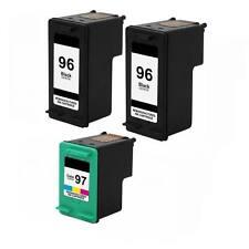3PK HP 96 97 Ink For OfficeJet 7410xi 7310 7310xi Photosmart 8050 8053 8150 8400