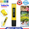 UK LCD Digital Electric PH Meter Tester Hydroponics Aquarium Water Test Tool Pen