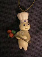 Danbury Mint Pillsbury Dough Boy Hanging Christmas Ornament Spoon Full