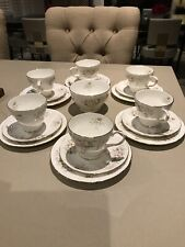 duchess bone china Lansbury Tea And Cake Plate Set