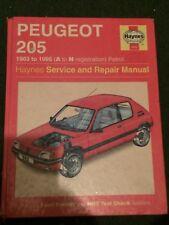 buy peugeot 205 1983 car service repair manuals ebay rh ebay co uk peugeot 205 service and repair manual.pdf peugeot 205 service manual