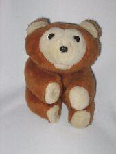 """Hasbro Plush Huggy Teddy Bear Romper Room Brown 12"""" Vintage 1979"""