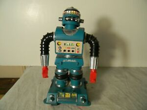 1960'S IDEAL ZERAK BLUE DESTROYER ROBOT WORKS