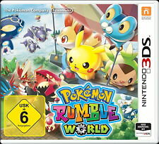 Pokémon Rumble World (Nintendo 3DS, 2016)