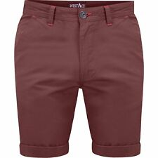 New Mens Chino Shorts WestAce Branded Casual Pants Cotton Bottoms Beach Cargo