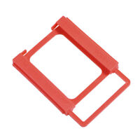 2.5 To 3.5Inch`Ssd To Hdd Screw-Less Mounting Adapter Bracket Hard Drive Hold JE
