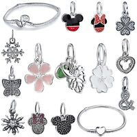 Popular New Necklace Pendants Silver Charms For Brand 925 Bead Bracelet Jewelry
