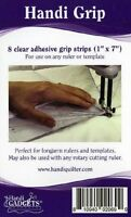 """Grip Strips by Handi Quilter ~ Non Slip Solution for Quilting Rulers ~ 8 """"1 x 7"""""""