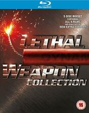 Lethal Weapon 1 to 4 Movie Collection Blu-ray UK BLURAY