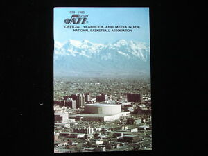 1979-80 Utah Jazz NBA Basketball Yearbook