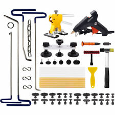PDR Tools Dent Repair Puller Lifter Removal Hail Rods Paintless Tabs Hammer Kits