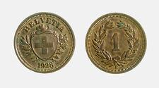s737_65) Svizzera  Switzerland  Helvetia - SUISSE -  1 Rappen 1928 B