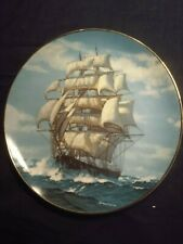 """W.l George ' The Twilight Under Full Sail"""" plate"""