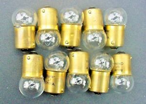 GMC Box 10 Incandescent #67 12V Interior Courtesy Trunk Light Bulb Lamp NOS