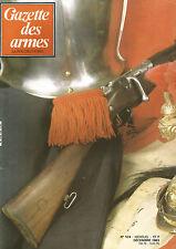 GAZETTE DES ARMES N°124 CARABINE DE MATCH SANFTL POUDRE NOIRE / MOUSQUETON 1892