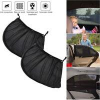 2stk Auto Seitenschutz UV Sonnenschutz Baby Sonnenblende 110x50cm KFZ Universal