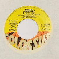 Crossover Soul 45 I.A.P CO. Check Yourself COLOSSUS DJ VG+