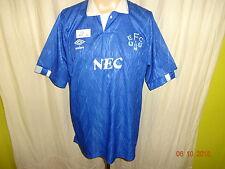 "Everton FC Original umbro Heim Trikot 1988-1990 ""NEC"" Gr.XL TOP"