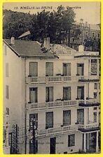 cpa RARE 66 - AMÉLIE les BAINS PALALDA (Pyrénées Orientales) VILLA GENEVIÈVE