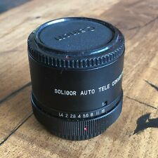Soliger Auto 3X Teleconverter for Canon Lens