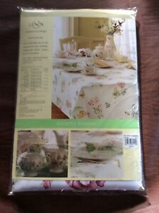 Lenox Butterfly Meadow 70-inch Round Tablecloth