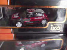Citroen C3 WRC Monte Carlo 2017 Meeke IXORAM638 1/43