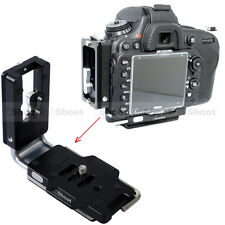 L- Holder Vertical Quick Release Plate for Nikon D750 D700 Camera Battery Grip