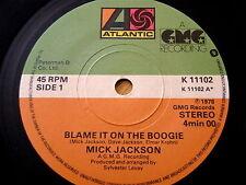 """Mick Jackson-culpa en el Boogie de vinilo de 7"""""""