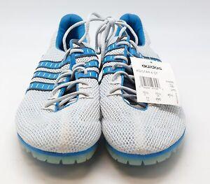 TC17 Adidas Adistar 4 ST Men Track & Field Spikes Size 11 Gray/Blue145821 HN307