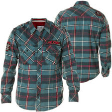 NWT The Buckle Mens Affliction Flannel/jacket Button Down size large