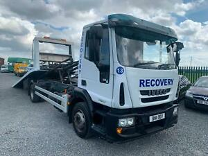 2011 IVECO EUROCARGO AUTO 12 TON RECOVERY TILT SLIDE RECOVERY TRUCK NO VAT