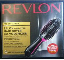 Revlon One-Step Hair Dryer & Volumizer Brush Black / Pink Brand New! SEALED!