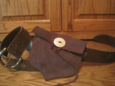 Medieval Long Belt and Acorn Pouch