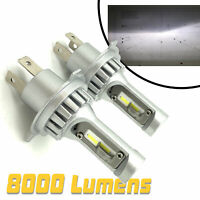 Micro H4 V12 CSP LED Headlight Bulbs Kit 8000lm! For For Hyundai