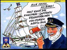 IGLO-- Alle Mann an Bord--Käptn Iglo --Werbung von 1989--