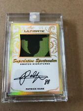 2019 LEAF ULTIMATE PATRICK KANE SPECTACULAR SWATCH SIGNATURES #1/1 RARE