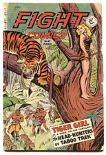 Fight Comics #67 1950- Tiger Girl- Senorita Rio G/VG