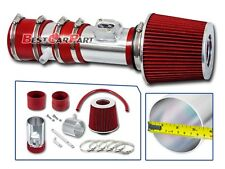 BCP RED 12-17 Traverse Enclave Acadia 3.6 V6 Air Intake System +Racing Filter