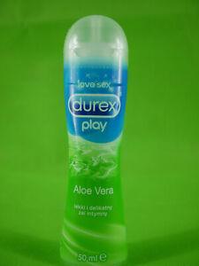 Durex Play Aloe Vera Edible Sex Lubricant Pleasure Gel Water Base 1.7oz / 50ml