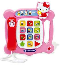 Hello Kitty telefono di apprendimento-clemontoni-Boxed ** GRANDE REGALO **