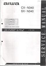 Aiwa  Service Manual für CX-N 340 und SX-N 340